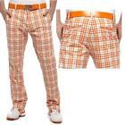 Plaid Golf Pants 38
