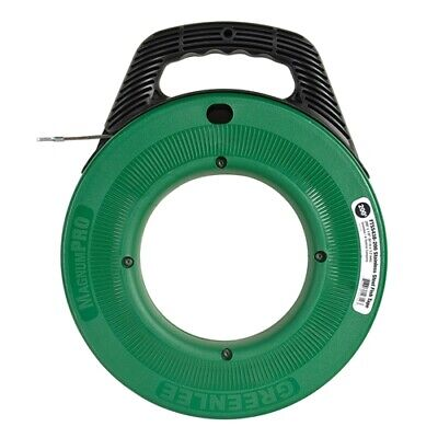 Greenlee Ftss438-200 Magnumpro 18in X 200ft Stainless Steel Fish Tape With Case