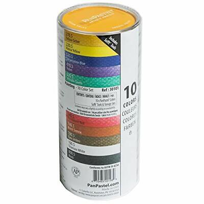 Ultra Soft Artist Pastel 10 Colors Paintings Set With Soft Tools 30101