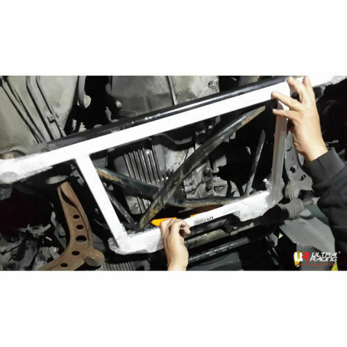 For BMW E37 Z3 1.9 (Roadster) 2WD 1995 Ultra Racing Front Lower Bar Member Brace
