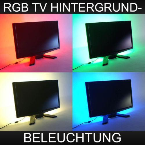 tv hintergrundbeleuchtung ebay. Black Bedroom Furniture Sets. Home Design Ideas