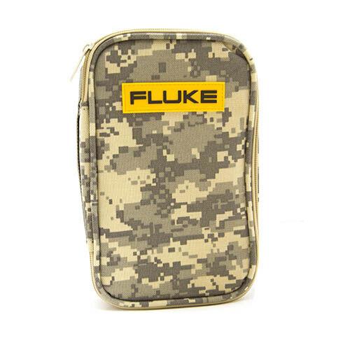 Fluke CAMO-C25 Soft Camo Carrying Case, Zipper, Lateral Top, Strap