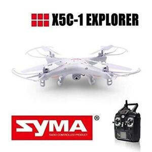 NEW Original Syma X5C-1 RC Drone with 2MP Camera +FREE BATTERY