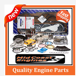 Holden Rodeo Jackaroo, 4JB1-T Diesel Engine Rebuild Kit + Water Pump