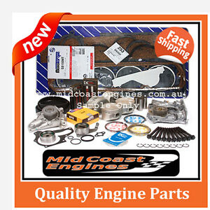 Toyota Hilux Hiace Dyna 4 Runner, 3L Diesel Engine Rebuild Kit + Water Pump
