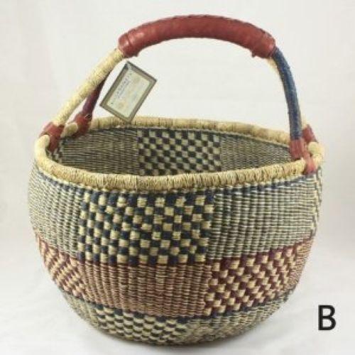 African Baskets: African Market Basket