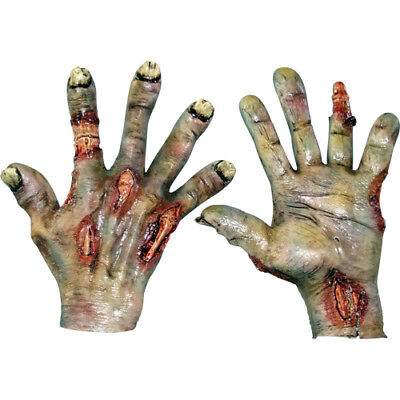 Rotted Hands Horror Zombie Costume - Zombie Hands