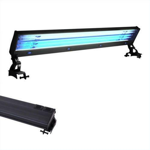 Coralife Aqualight T5 Dual Fluorescent Light Fixture For: Salt Water Aquarium Lights T5