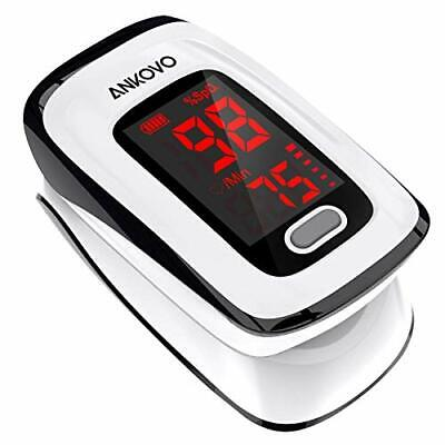 Pulse Oximeter Fingertip Oximetro Ankovo Blood Oxygen Saturation Monitor