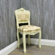 Cream Bedroom Chair