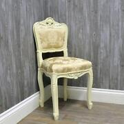Cream Bedroom Chair