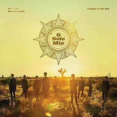 SF9 [KNIGHTS OF THE SUN] 3rd Mini Album CD+Photo Book+2 Photo Cards Sealed