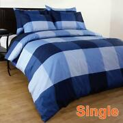 Queen Bed Quilt Cover Sets Blue