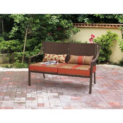 Outdoor Bench Patio Furniture Garden Deck Porch Loveseat  NEW