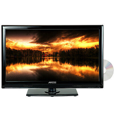 """AXESS TVD1801-22 22"""" LED AC/DC TV WDVD Player Full HD with HDMI, SD card reader"""