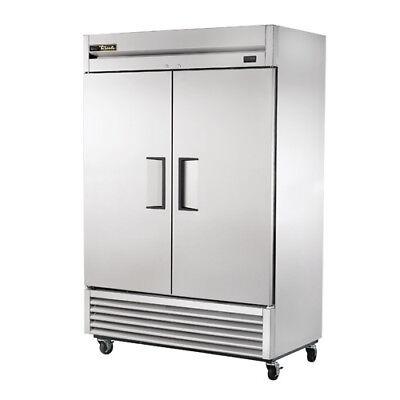 True Ts-49f Stainless Reach-in Freezer 2 Door 49 Cu. Ft.