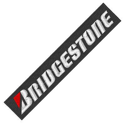 "Racing und sponsoren Fan Aufnäher ""Bridgestone ca 17 x 3 cm"