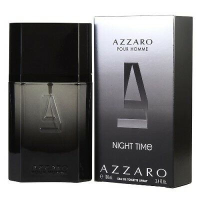 Azzaro Night Time Pour Homme By Azzaro 3 4 Oz Edt Cologne For Men New In Box