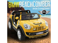 Mini Beachcomber Kids Electric Ride On Car BMW / Cars 12V Two Seater LICENSED PARENT REMOTE
