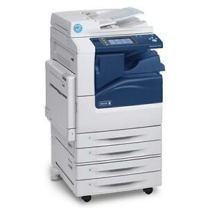 REPOSSESSED 5k Only NEW Xerox WC workcenter 7225 11x17 Multifunction Copier with staple Copiers Printers BUY LEASE RENT