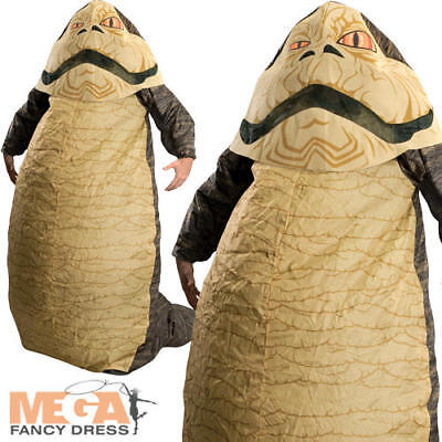Jabba the Hutt Star Wars Men's Fancy Dress Inflatable Adult Costume Outfit - Jabba The Hutt Costumes