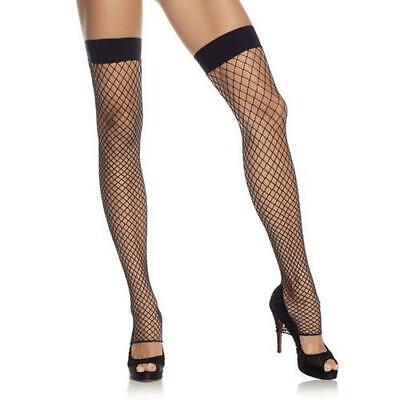 Leg Avenue Industrial Net Footless Thigh High|Fishnet Hold Ups - Industrial Net Strumpfhosen