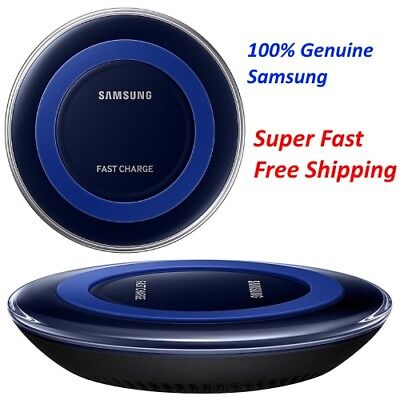 Samsung QI Fast Charge Wireless Charger Pad S6/S7/S8/S9 Plus Iphone X 8 plus use