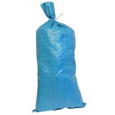 New 10 Pack Heavy Duty Sand Bags Garden Bin Plastic Bag Sandbag Flood Protection