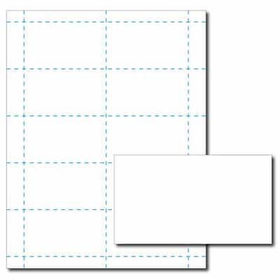White Business Card Printer Paper – 25 Sheets