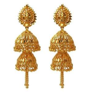 bhp indian earrings gold ebay
