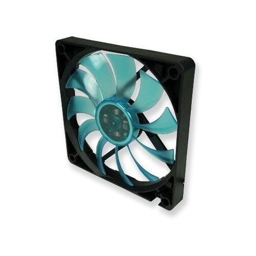 Slim 12 UV Blue, Silent Slim 120mm UV Reactive Fan