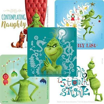 25 The Grinch Christmas Stickers, 2.5