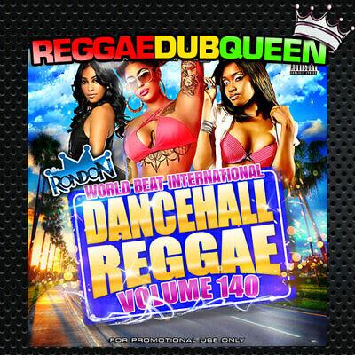 DJ Rondon - Dancehall Reggae 140 Mixtape. Reggae Mix CD. April 2020