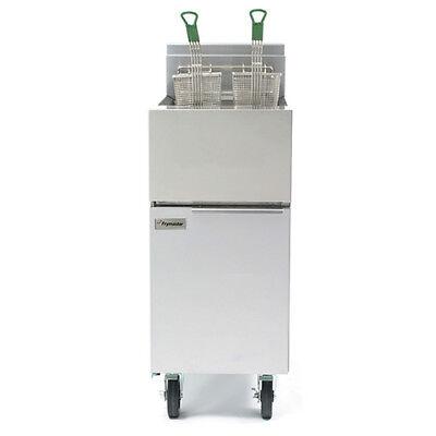 Frymaster Gf14se Natural Gas Fryer With 40 Lb. Cap.