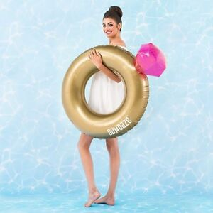 Wedding Planning - Engagement Ring Inflatable Pool Float