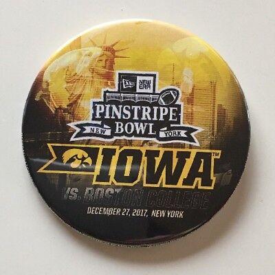 Iowa Hawkeyes - 2017 Pinstripe Bowl Button