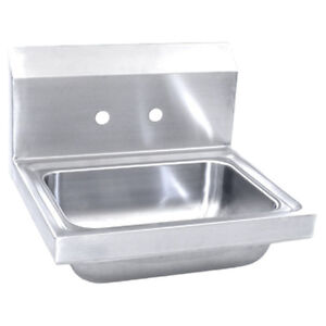 NEW COMMERCIAL STAINLESS STEEL KITCHEN SINK HAND WASHING BATHROOM BASIN