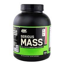 ON Optimum Nutrition Serious Mass 6 lbs Vanilla flavor