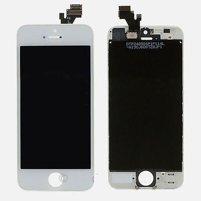 White LCD Display+Touch Screen Digitizer Assembly Replacement for iPhone 5 OEM on Rummage