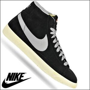 Nike Blazer Damen Schwarz Lack
