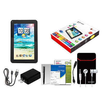 """9"""" Quad Core Android 4.4 KitKat Cortext-A7 Tablet PC 8GB Dual Camera Wi-Fi USA"""