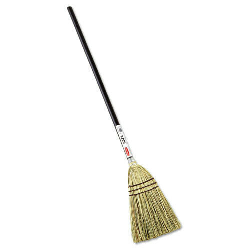 Rubbermaid Commercial 6373BRO 38 in. Lobby Corn-Fill Broom Brown New