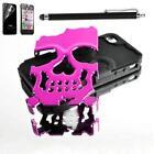 Pink Skull iPhone 4 Case
