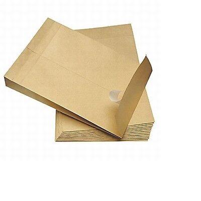 100 Faltentaschen Versandtaschen B4 250 x 353 x 40 NEU