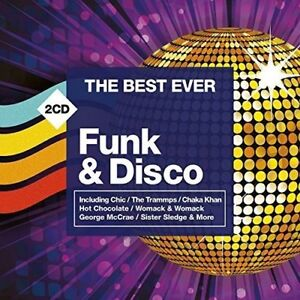 THE BEST EVER FUNK & DISCO 2 CD - VARIOUS ARTISTS