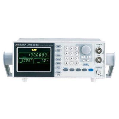 Instek Afg-2005 Afg-2000 Series Arbitrary Function Generator 5mhz