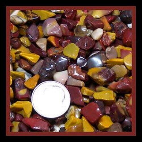 Mookite Jasper Gemstone Embellishment UNDRILLED Medium Chips 50g (1.75 oz)