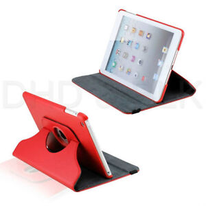 RED 360 ROTATING PU LEATHER CASE COVER WITH STAND FOR IPAD MINI Regina Regina Area image 7