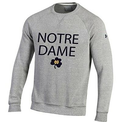Under Armour Notre Dame Fighting Irish Iconic Fleece Crew Sweatshirt - Notre Dame Irish Crew Sweatshirt