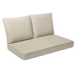 Excellent Rolston 3 Piece Outdoor Replacement Loveseat Cushion Set Creativecarmelina Interior Chair Design Creativecarmelinacom